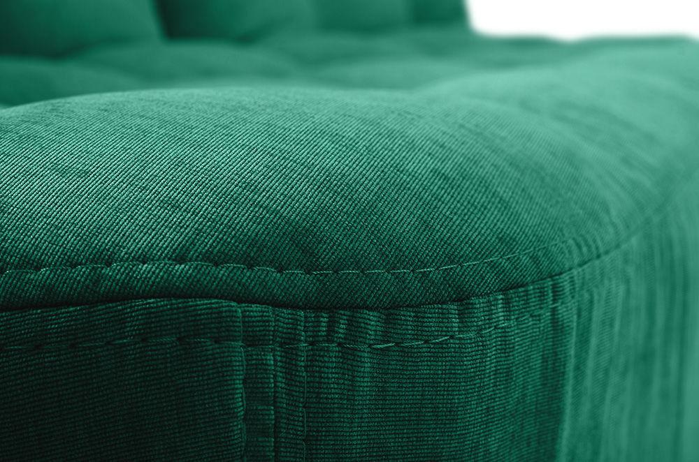 Диван Woodcraft Бонс Velvet Emerald прямой - фото 13