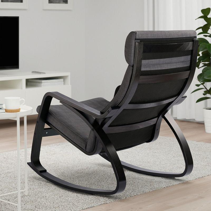 Кресло IKEA Поэнг 693.028.25 - фото 4