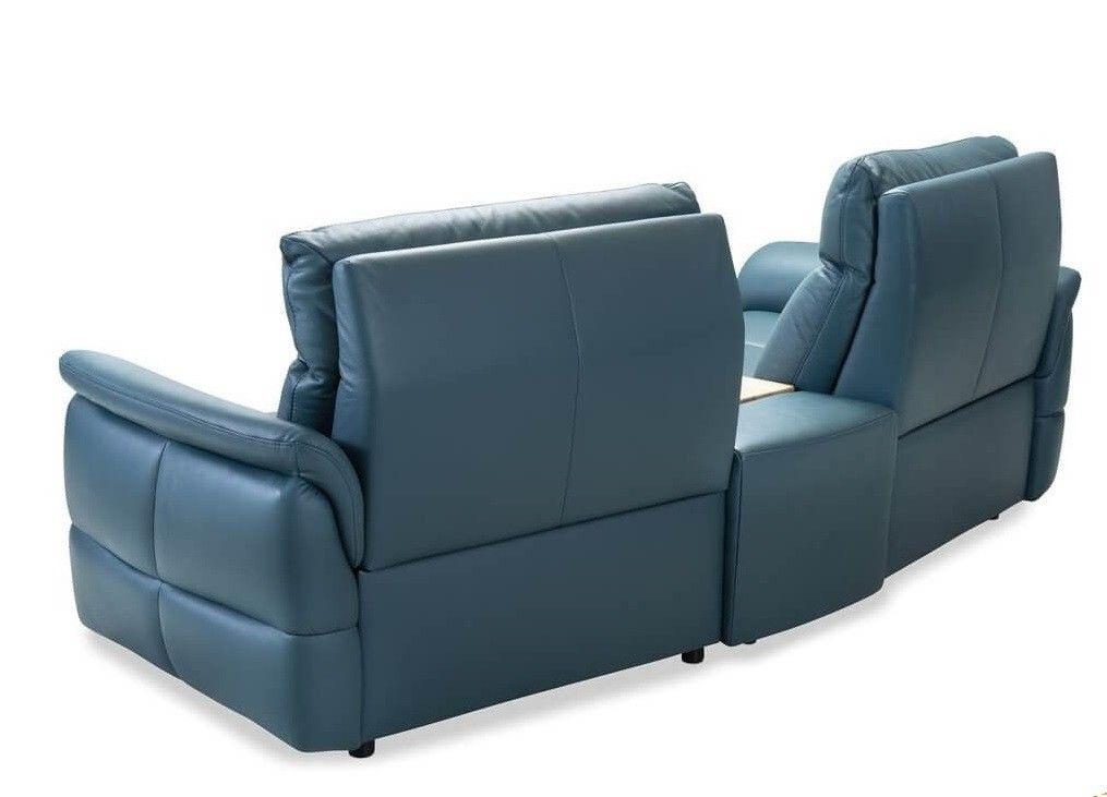 Набор мягкой мебели Gala Collezione Oviedo 285x103x102 (кожа) - фото 5