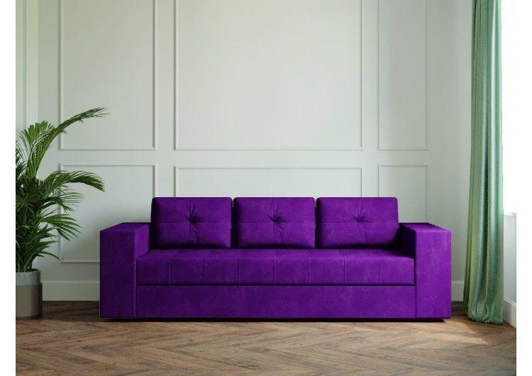 Диван Настоящая мебель Ванкувер Лайт (модель: 00-00003450) фиолетовый - фото 2