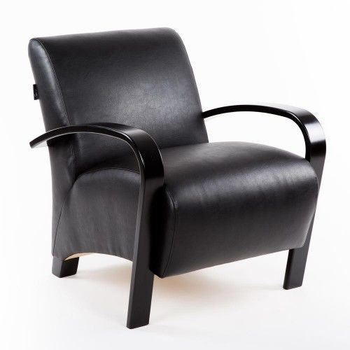 Кресло Greentree Балатон венге/экокожа Шоколад - фото 1