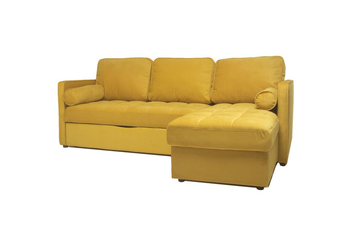 Диван Puffo Ливерпуль Velvet Yellow - фото 2