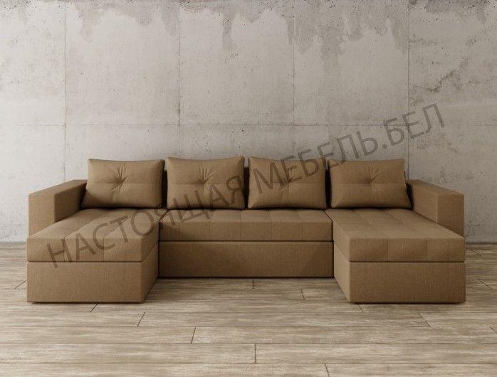 Диван Настоящая мебель Константин п-образный (модель 74) - фото 1