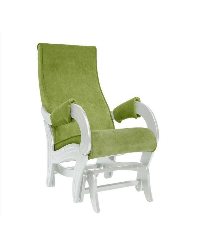 Кресло Impex Кресло-гляйдер Модель 708 Verona сливочный (apple green) - фото 1