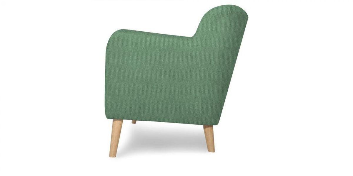 Кресло WOWIN Ингрид (Мятная рогожка) - фото 4