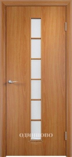 Межкомнатная дверь VERDA С-12 ДО Миланский орех - фото 1