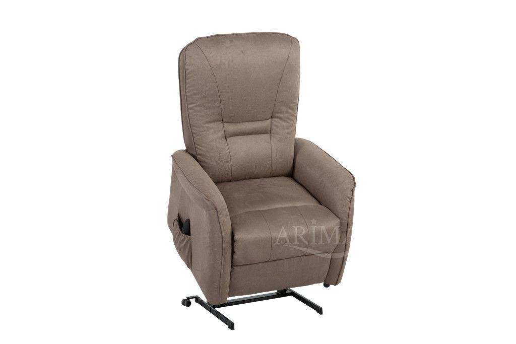 Кресло Arimax Dr Max DM02007 (Серо-коричневый) - фото 3