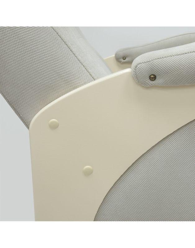 Кресло Impex Модель 48  verona сливочный  б.л. (light grey) - фото 4