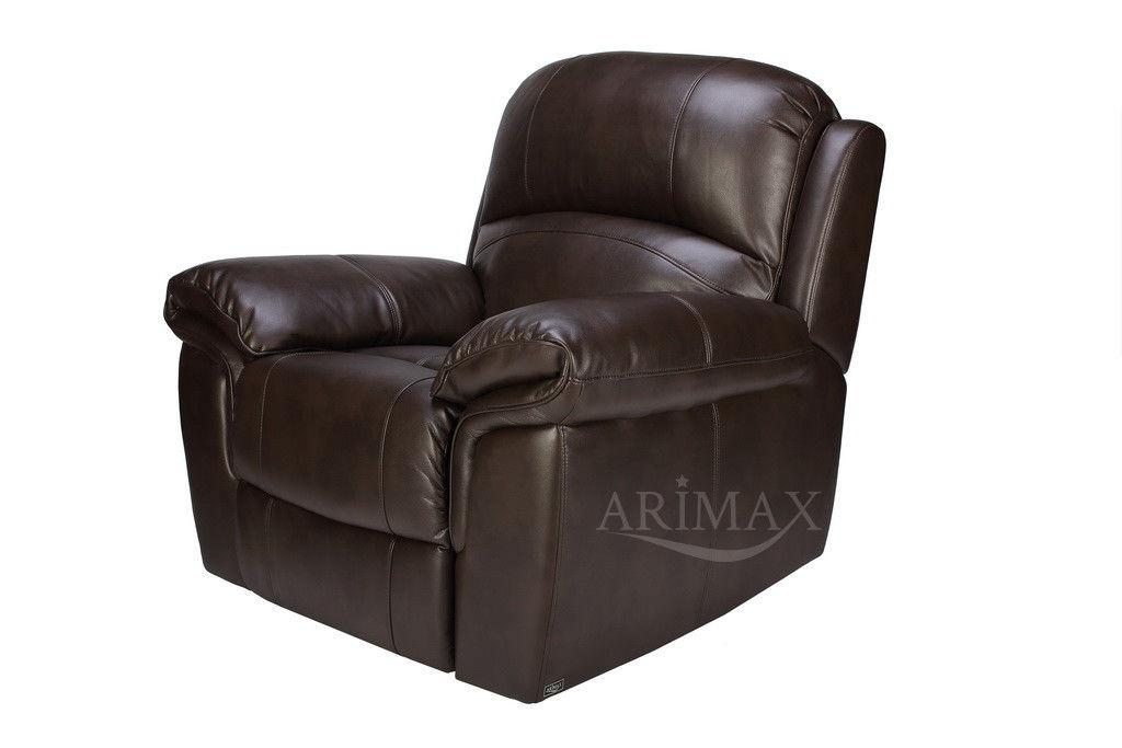 Кресло Arimax Миллер N (Темный каштан) - фото 1