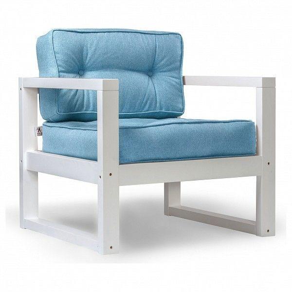 Кресло Anderson Астер AND_122set240, голубой - фото 1