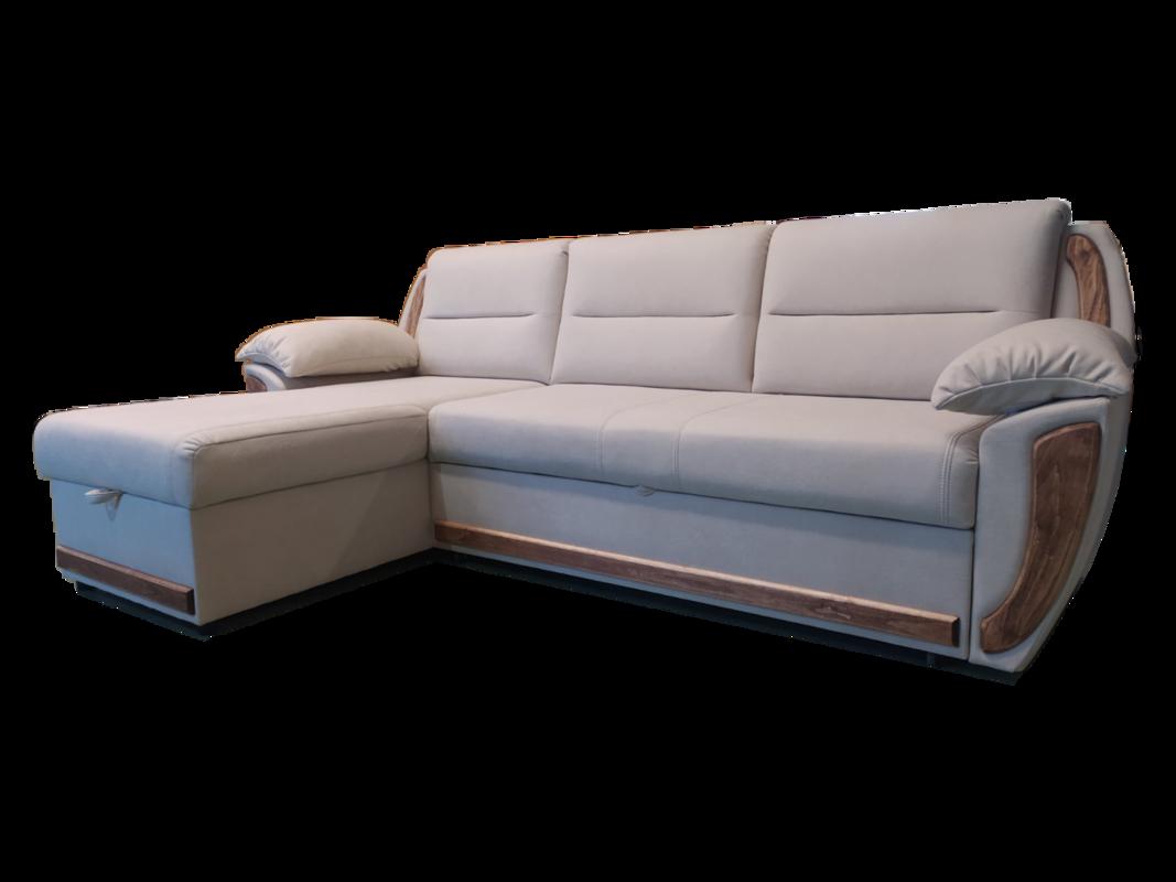 Диван Виктория Мебель Софи с оттоманкой СК 2426 - фото 1