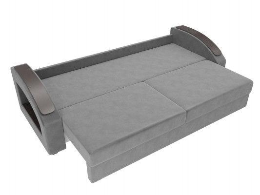 Диван ЛигаДиванов Канзас 100969 флок серый - фото 6