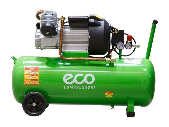 Компрессор ECO AE-705-3 (440 л/мин, 8 атм, коаксиальный, масляный, ресив. 70 л, 220 В, 2.20 кВт) (AE-705-3) - фото 3