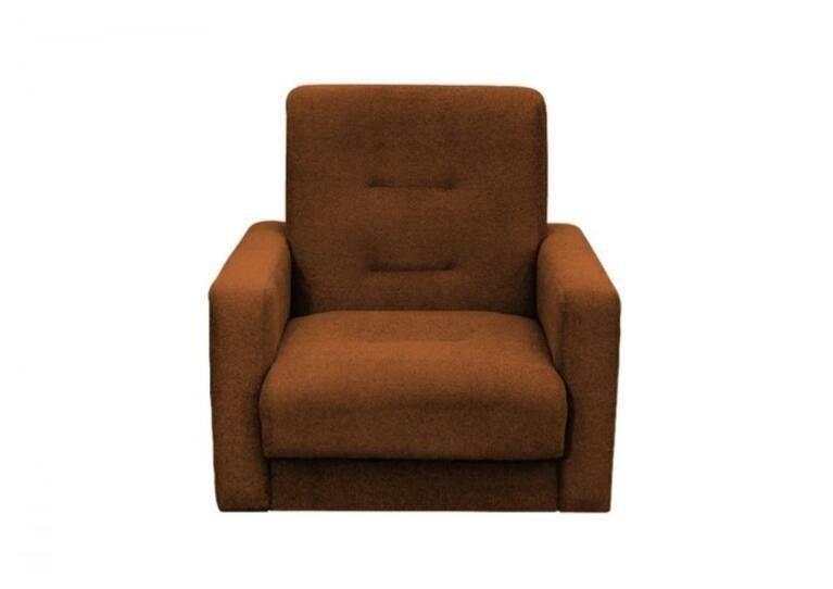 Кресло Craftmebel Милан коричневый - фото 1