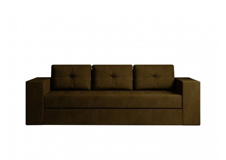Диван Настоящая мебель Ванкувер Лайт (модель: 00-00003452) коричневый - фото 1
