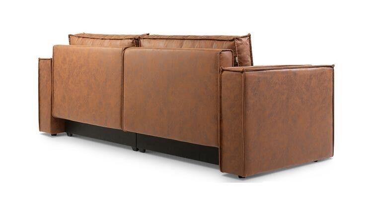 Диван Craftmebel Лофт (экокожа коричневая) - фото 7