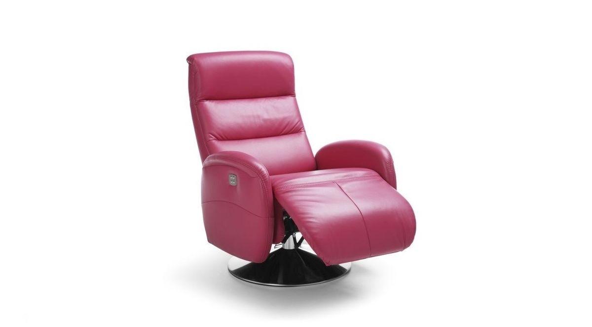 Кресло Gala Collezione Релакс Arosa в коже - фото 1