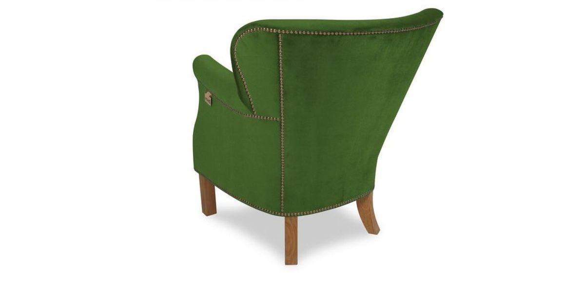 Кресло WOWIN Голден (Зеленый велюр) - фото 4