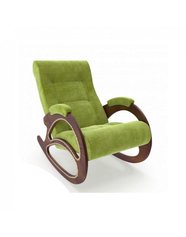 Кресло Impex Модель 4 Verona орех (light grey) - фото 3