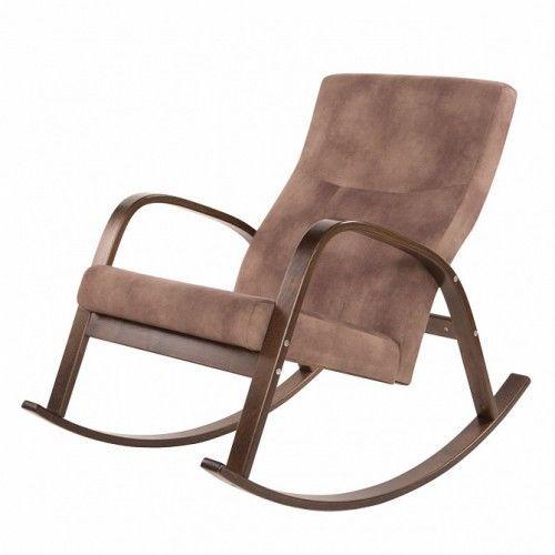 Кресло Greentree Ирса ткань орех / каркас вишня - фото 1