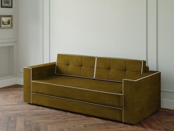 Диван Настоящая мебель Ванкувер Модерн (модель: 00-000034539) коричневый - фото 1