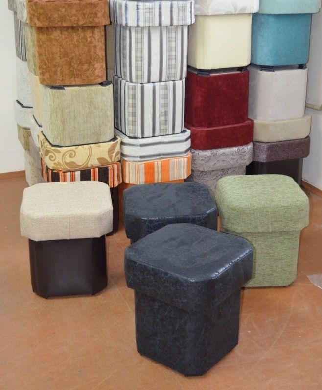 Пуфик Вливск-Мебель восьмигранный - фото 4