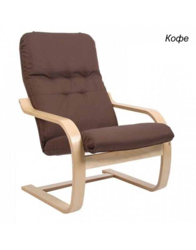Кресло Impex Сайма ткань (coffe) - фото 1