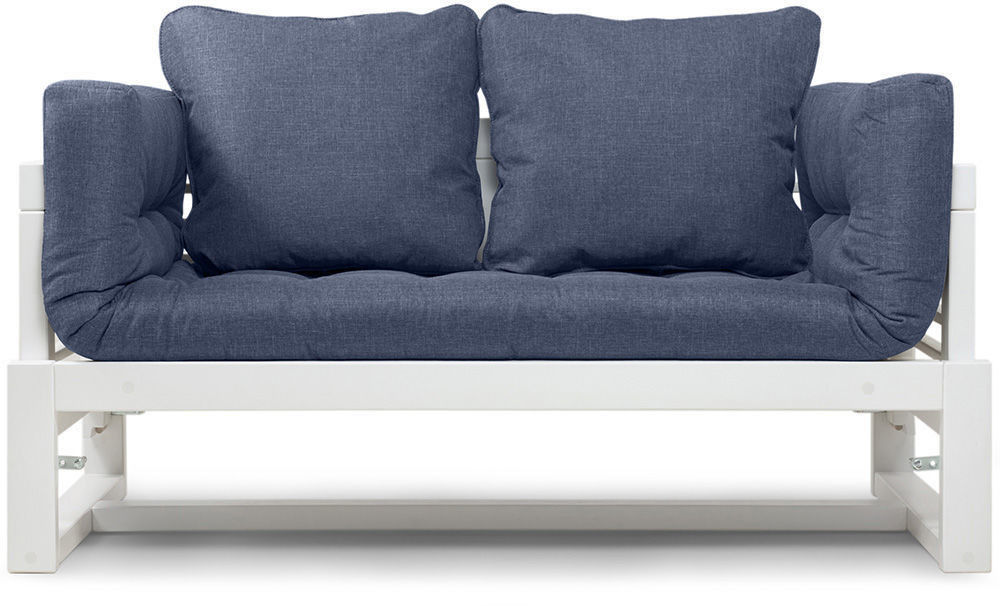 Диван Woodcraft Кушетка Балтик Textile Blue - фото 3