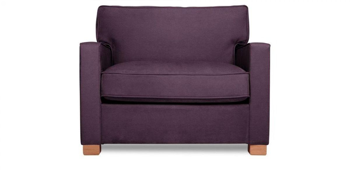 Кресло WOWIN Табу (Темно-фиолетовый велюр) - фото 2