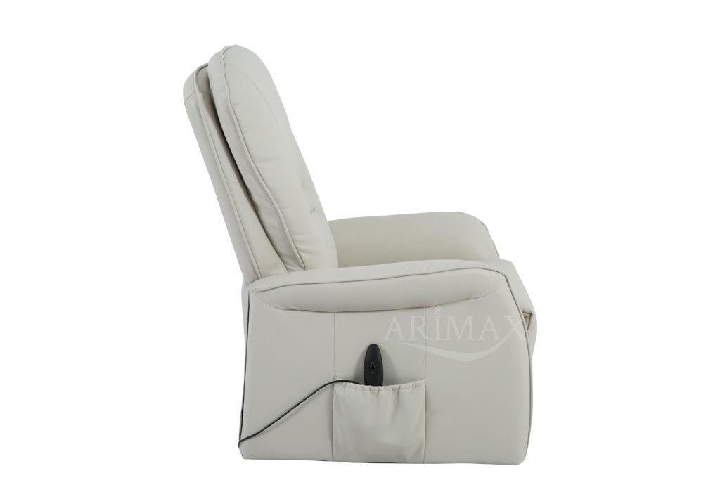 Кресло Arimax Dr Max DM02007 (Слоновая кость) - фото 6
