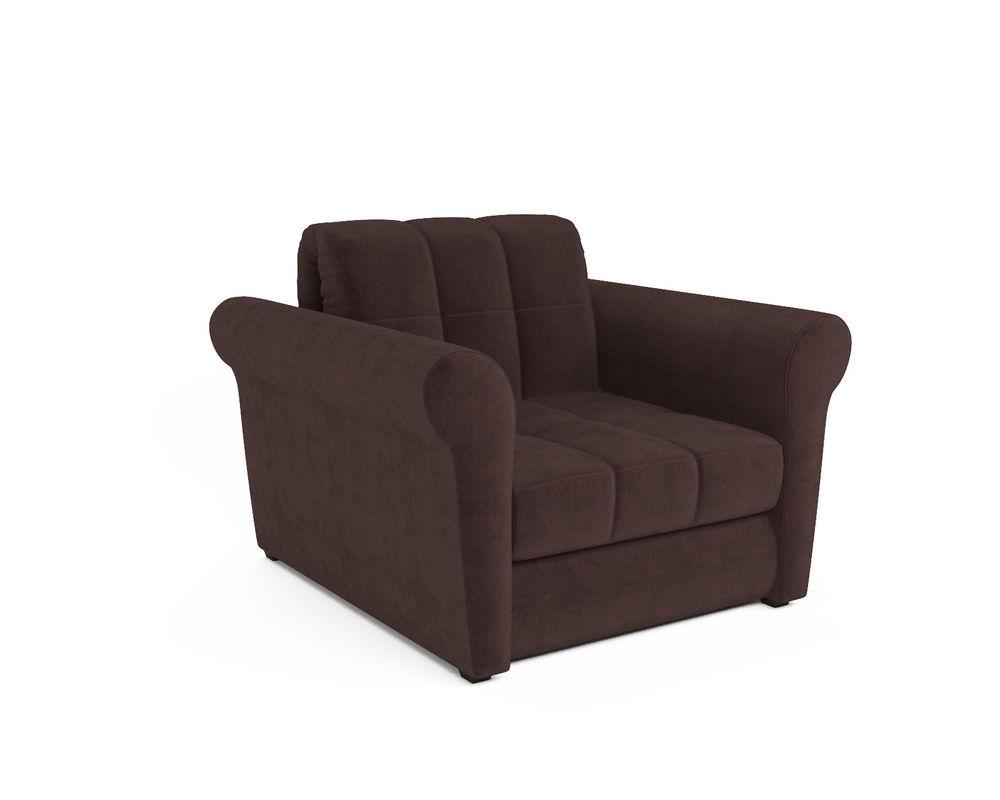 Кресло Мебель-АРС Гранд шоколадный велюр (НВ-178/16) - фото 1