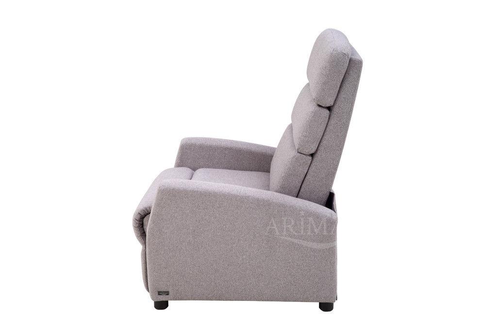 Кресло Arimax Dr Max DM04003 (Теплый серый) - фото 2