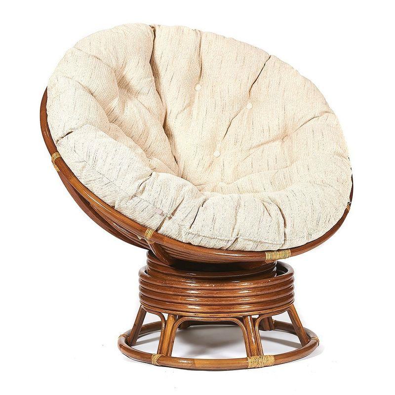 Кресло TetChair Papasan TET_10523, коричневый - фото 3