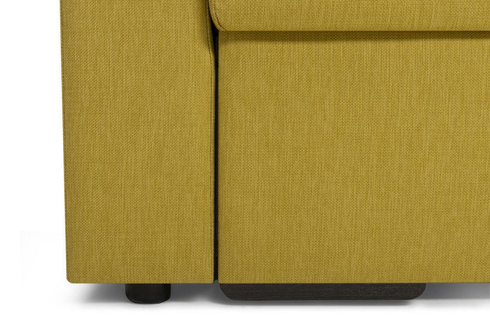 Диван Woodcraft Порту Textile Yellow - фото 12