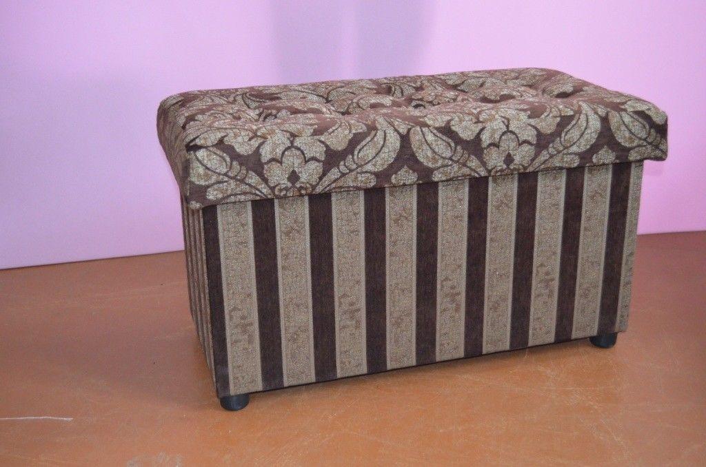 Пуфик Вливск-Мебель 40x80 с нишей - фото 3