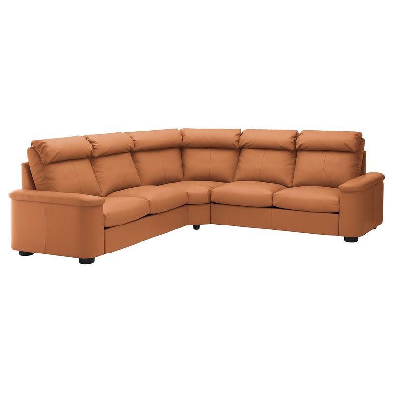 Диван IKEA Лидгульт золотисто-коричневый [892.661.62] - фото 1