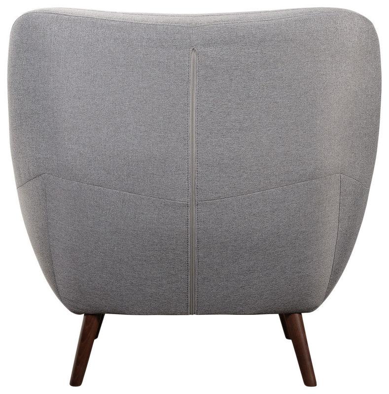 Кресло R-Home Сканди RST_4017222H_Gray, серый - фото 4