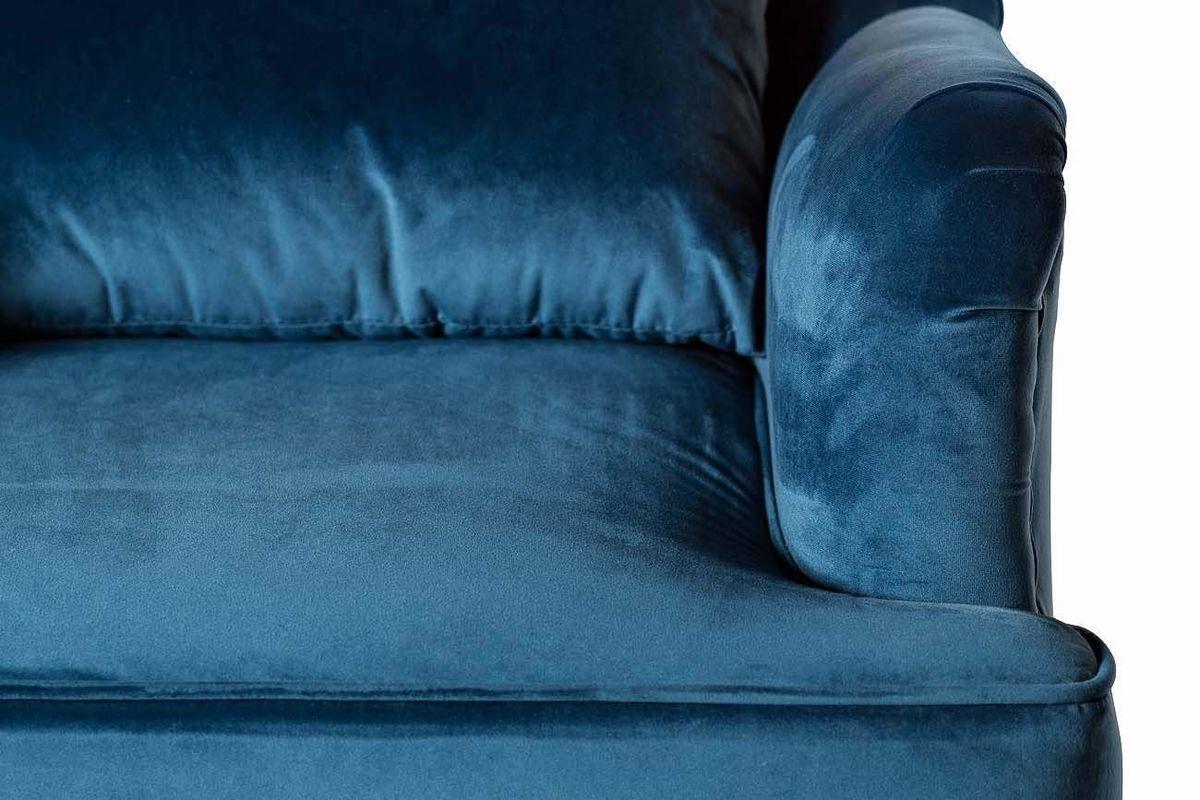 Кресло Garda Decor Кресло для гостиной Garda Dеcor 24YJ-7004-06466/1 GRD_TT-00000098, синий - фото 4