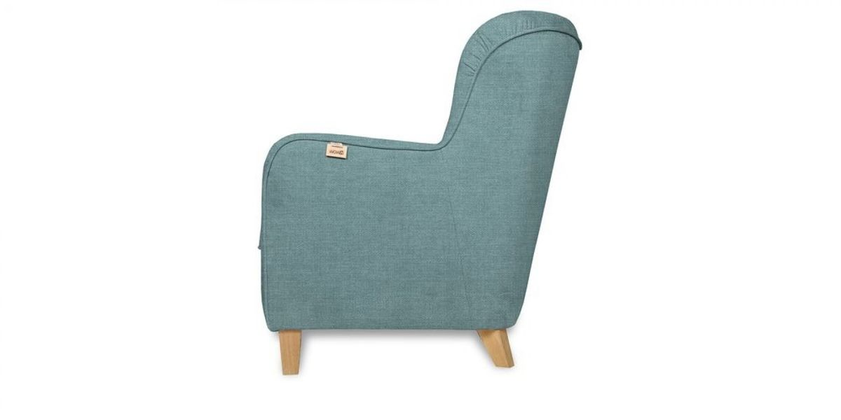 Кресло WOWIN Нуар (Бледно-васильковая рогожка) - фото 4