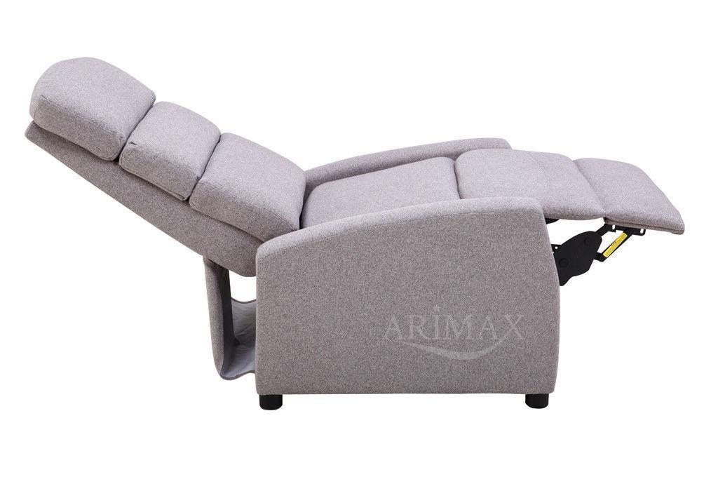 Кресло Arimax Dr Max DM04003 (Теплый серый) - фото 5
