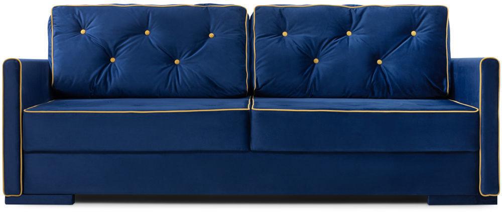 Диван Woodcraft Харлем Barhat Blue - фото 1