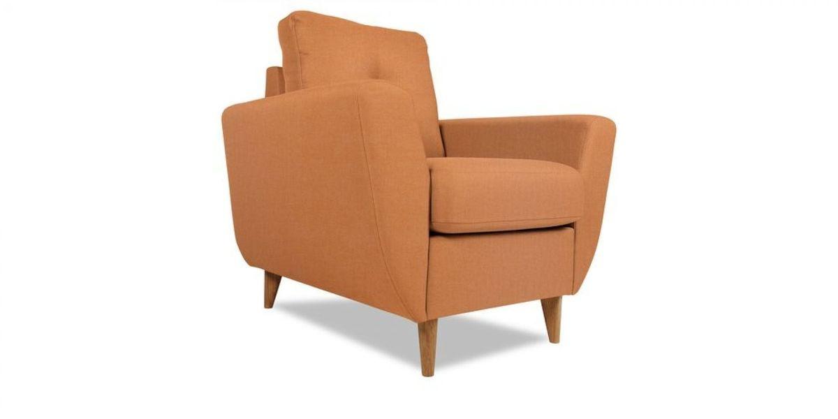 Кресло WOWIN Хоум (Бледно-лососевый велюр) - фото 1