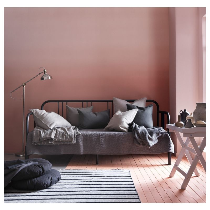 Диван IKEA Кушетка с 2 матрасами Фиресдаль черный [592.792.98] - фото 15