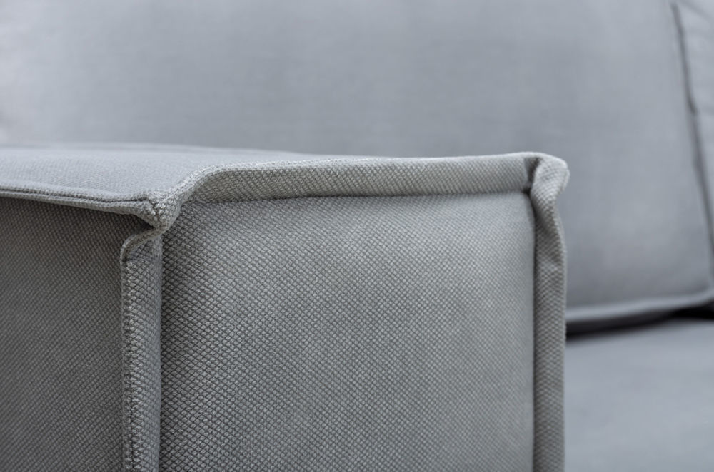 Диван Woodcraft Угловой Лофт Velvet Grey - фото 11
