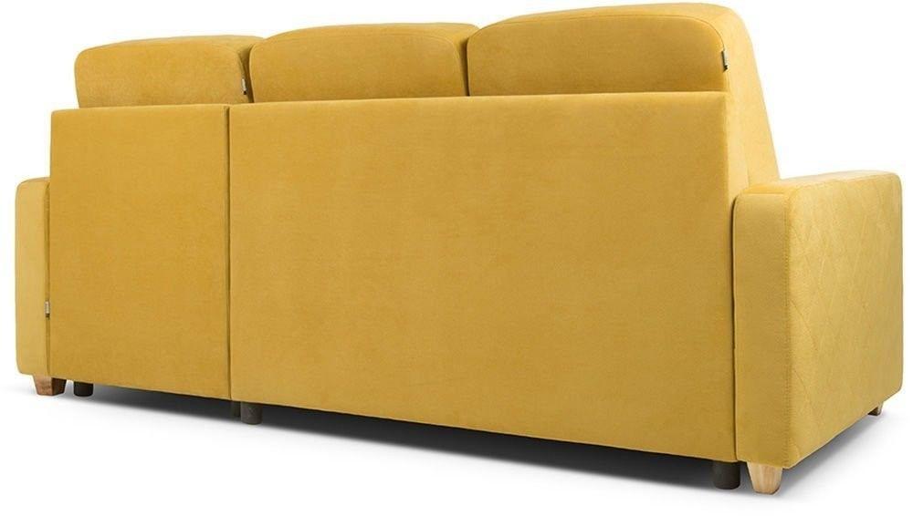Диван Woodcraft Модульный Гувер-2 Velvet Yellow (уцененный) - фото 18