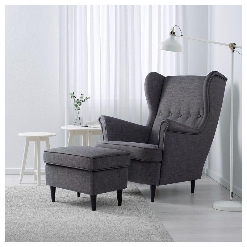 Кресло IKEA Страндмон 204.198.84 - фото 4