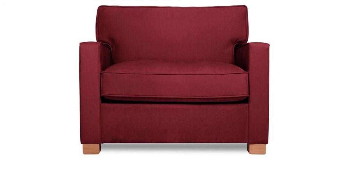 Кресло WOWIN Табу (Бордовый велюр) - фото 2
