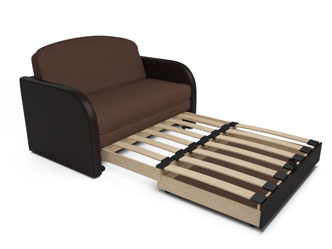 Диван Мебель-АРС Малютка (рогожка шоколад) - фото 7