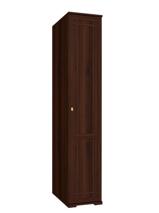 Глазовская мебельная фабрика Sherlock 91 для белья правый (орех шоколадный) - фото 1