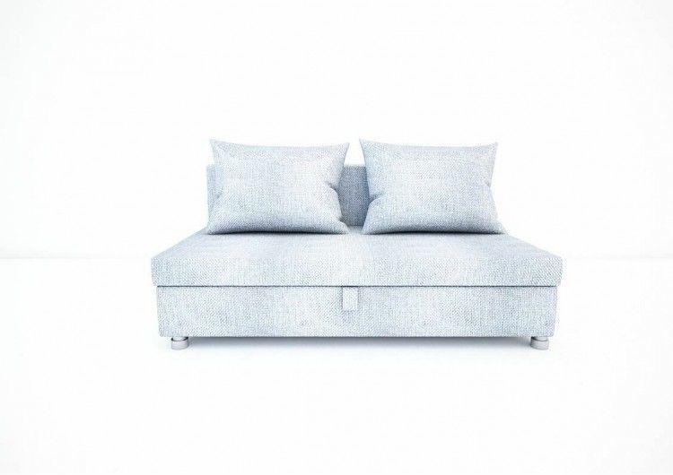 Диван Раевская мебельная фабрика Малыш флок светло серый 00588 - фото 3